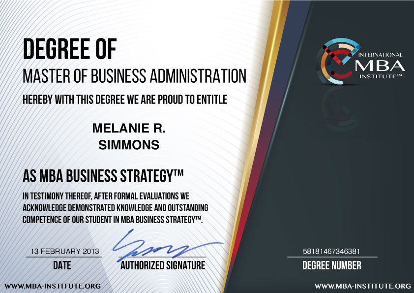 What Is Usd  Mba Business Strategy Degree Program